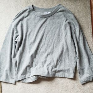 Gap grey sweatshirt.